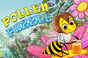 Put the puzzle together and help Bee find her hive.