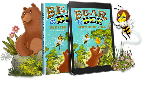 Bedtime rhyming stories for children, where you pick the music, read to your child and help them fall asleep and sleep through the night.
