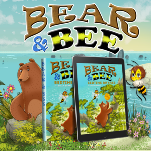 The Bear & Bee Bedtime Rhymes is a lyrical bedtime story of two unlikely friends living on the island of Bearberia.