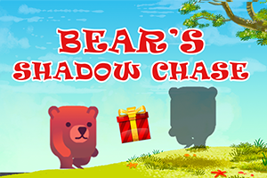 Bears Shadow Chase | Online Game from Bear and Bee Bedtime Rhymes