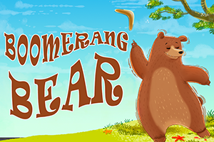 Boomerang Bear | Online Game from Bear and Bee Bedtime Rhymes