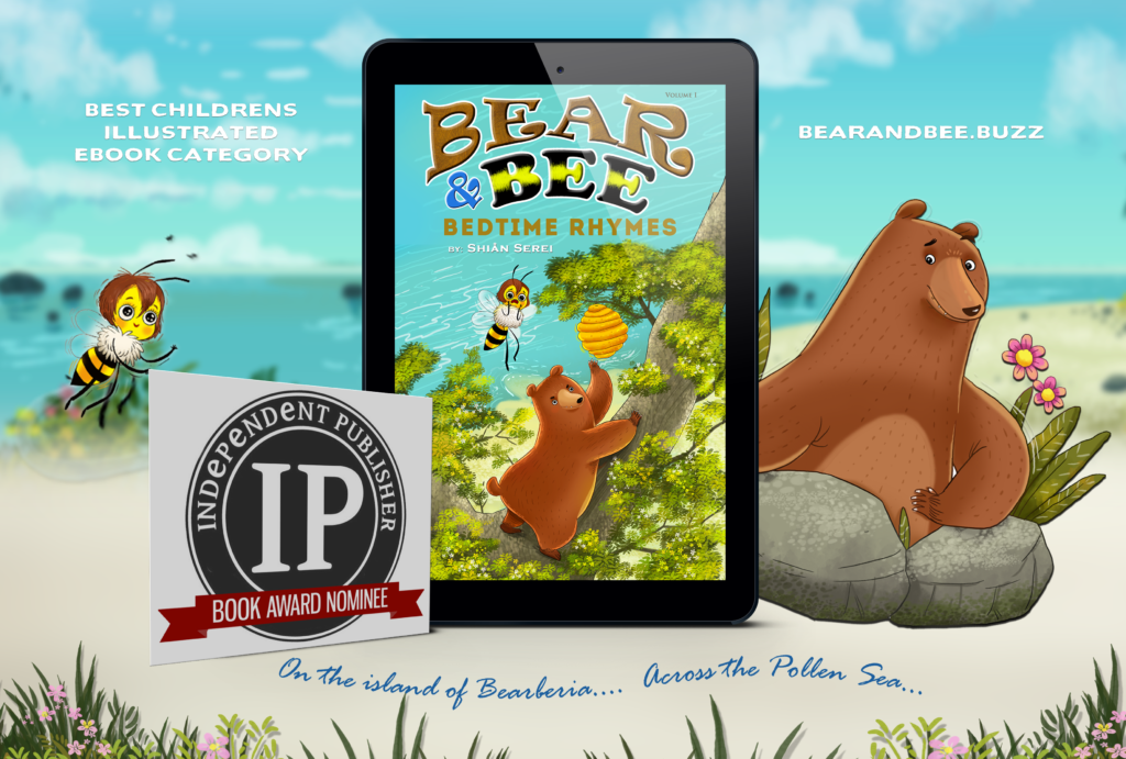 Bear and Bee Bedtime Rhymes competes for IPPY award
