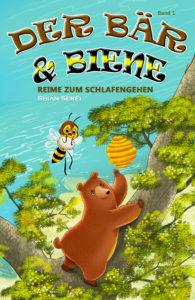 Die Bär & Bee Reime zum Schlafengehen Bear & Bee Bedtime Stories ist eine lyrische Geschichte von zwei unwahrscheinlichen Freunden, die ein Leben zusammen auf der Insel von Bearberia bauen.