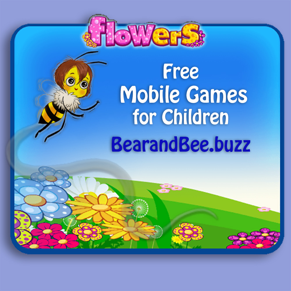 bees flowers bearberia games