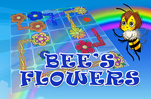 Bee's Flowers - Online Game from Bear and Bee Bedtime Rhymes