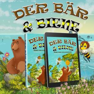 Bear & Bee Bedtime Stories ist eine lyrische Geschichte von zwei unwahrscheinlichen Freunden, die ein Leben zusammen auf der Insel von Bearberia bauen.