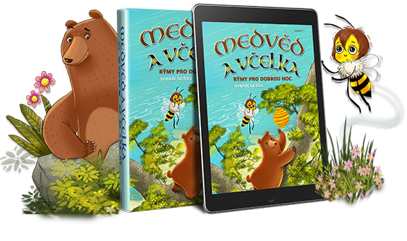 Bear & Bee Bedtime Stories je lyrický příběh dvou nečekaných přátel, kteří si společně budují svůj život na Ostrově Medvědoberie. K dispozici v tištěné POF one, i jako Kniha, můžete přečíst příběh vašemu dítěti a vybrat si z palety akustické hudby, hraní her, řešení hádanek nebo barev; vše z vašeho mobilního zařízení.