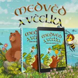 Bear & Bee Bedtime Stories je lyrický příběh dvou nečekaných přátel, kteří si společně budují svůj život na Ostrově Medvědoberie.